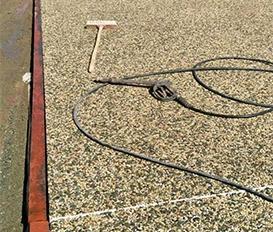 天然胶粘石地坪