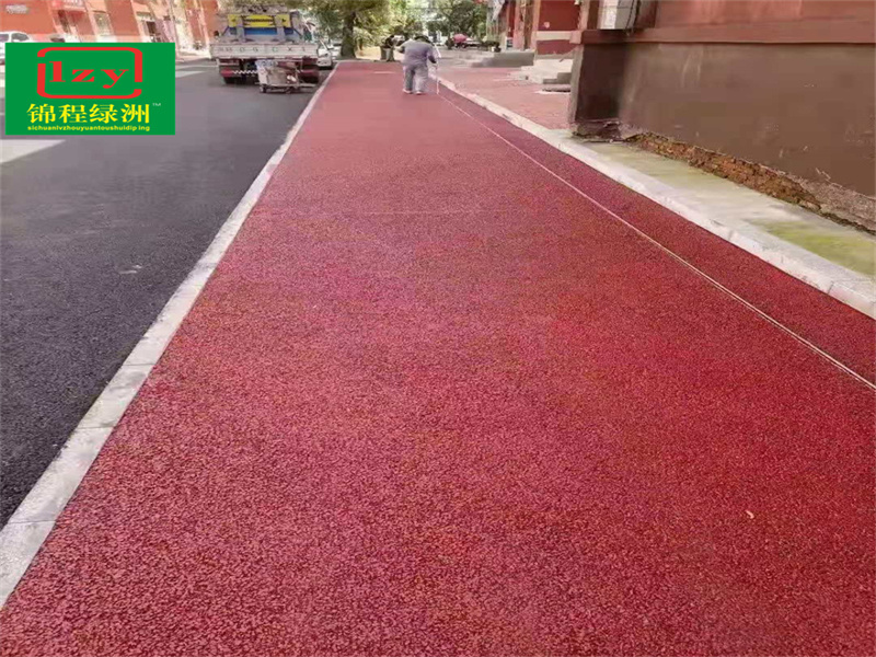 泸州老旧小区改造透水地坪项目